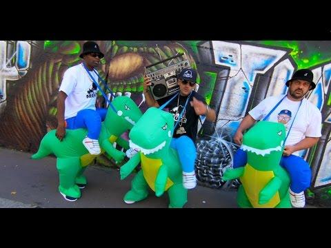 Clip de Dj Clif ft Ronsha et G-Zon, Rap Jurassic