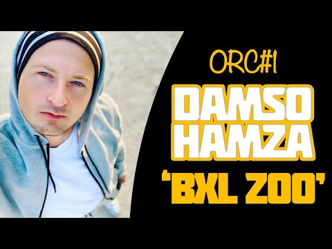 video de Kiddam, ORC-1 DAMSO x HAMZA Bxl Zoo