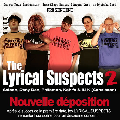 The Lyrical Suspects 2