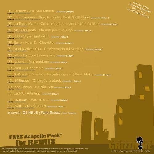 back Free Acapella Pack