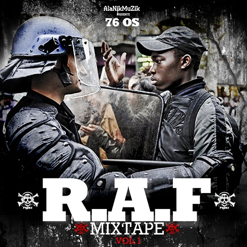 R-A-F Mixtape cover maxi