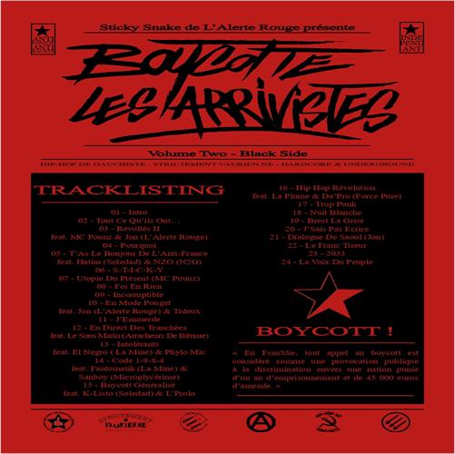Boycotte les arrivistes 2 cover maxi