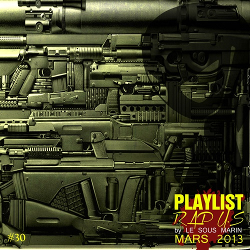 Playlist Mars 2013 cover maxi