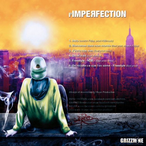 L'imperfection cover maxi