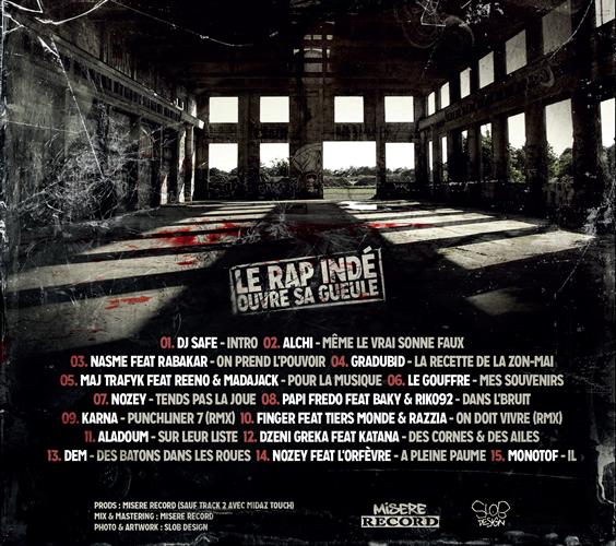 back Le rap inde ouvre sa gueule