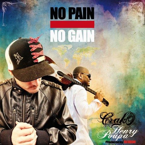 No pain No gain cover maxi