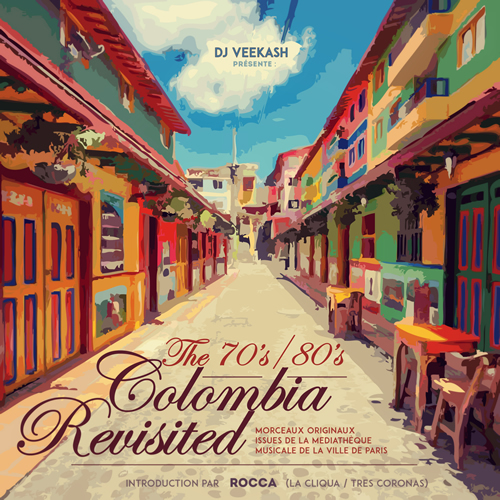 The 70 80 Colombia Music Revisisted cover maxi