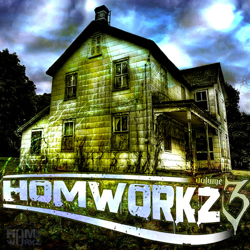 Homworkz Volume 3 cover maxi