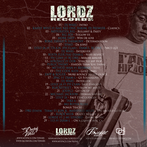 back Lordz records