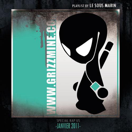 Rap Us Janvier 2011 cover maxi