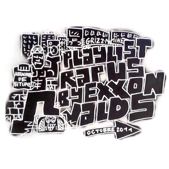 Playlist Rap Us Octobre 2011 cover maxi