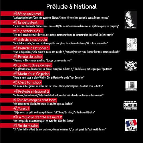 back Prélude a national