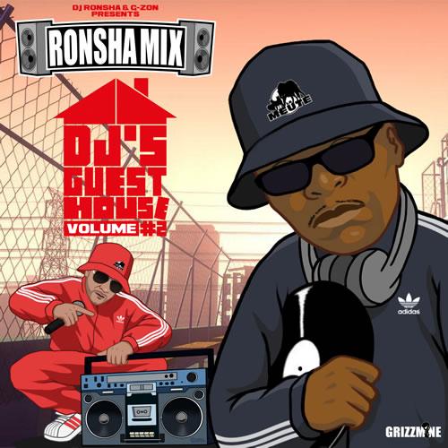 RONSHA MIX DJ'S GUEST HOUSE Vol. 2 cover maxi