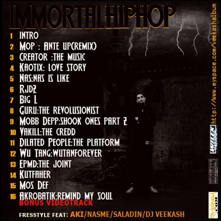 back Immortal Hip Hop