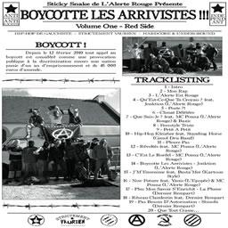 boycotte les arrivistes