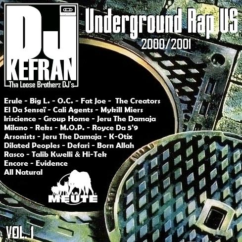 Dj Kefran - Underground Rap US