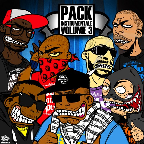 Instrumentale Pack 3 cover maxi
