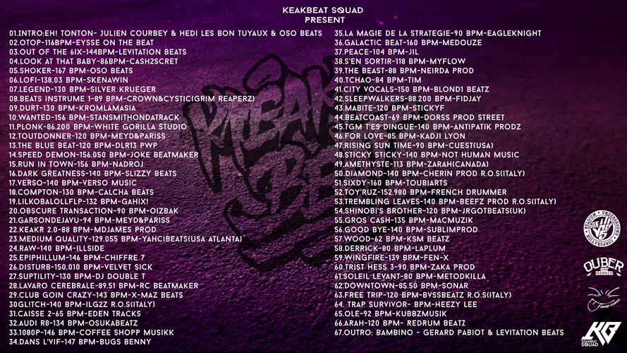 back Keakbeat Volume 4