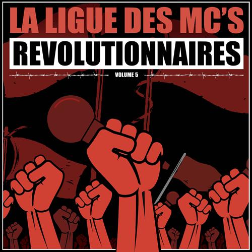 La ligue des mc's révolutionnaires cover maxi
