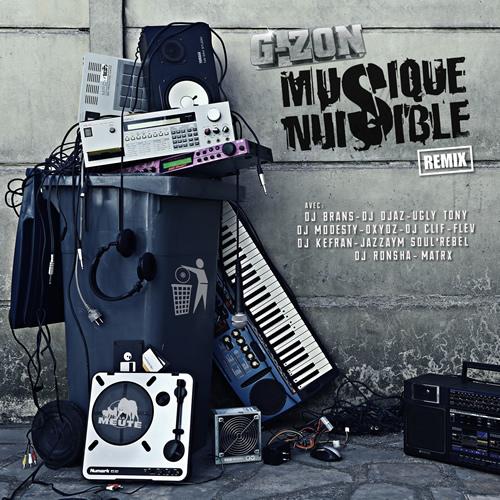 Musique Nuisible Remix cover maxi