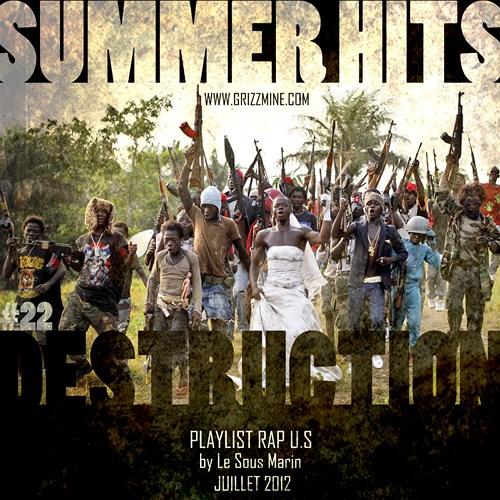 Playlist Juillet 2012 cover maxi
