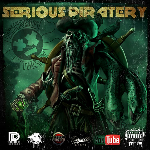 Serious Piratery cover maxi